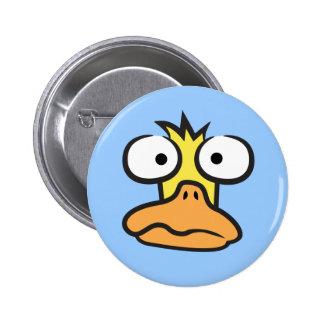 Cartoon Duck 6 Cm Round Badge