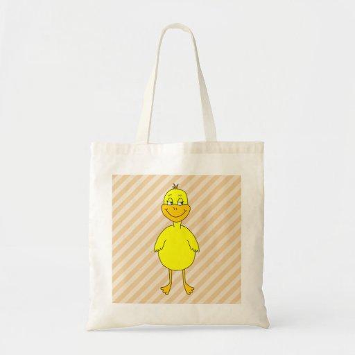 Cartoon Duck. Bags