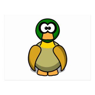 Cartoon Duck Postcard