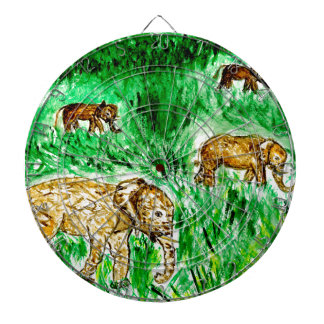 Cartoon Elephant3 Dartboard