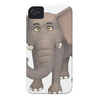 Cartoon Elephant iPhone 4 Case-Mate Cases