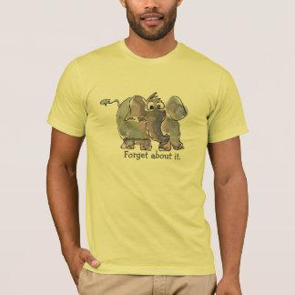 Cartoon Elephant Custom T-Shirt