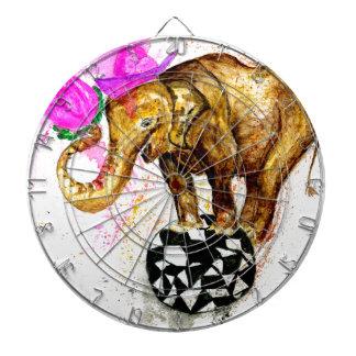 Cartoon Elephant Dartboard