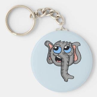 Cartoon Elephant Head keychain