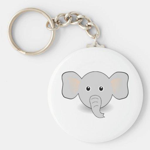 Cartoon Elephant Keychains
