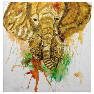 Cartoon Elephant Napkin
