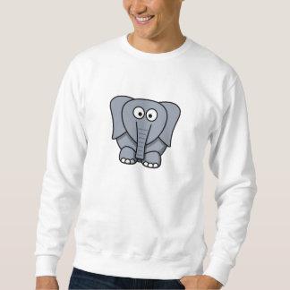 Cartoon Elephant Sweatshirt