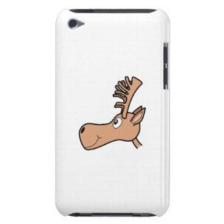 Cartoon Elk Moose. iPod Case-Mate Case