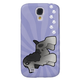Cartoon English Cocker Spaniel Galaxy S4 Cases