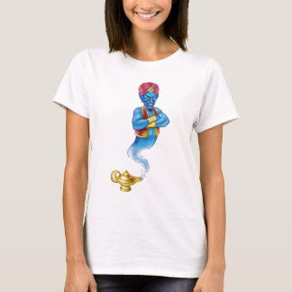 Cartoon Evil Aladdin Genie T-Shirt