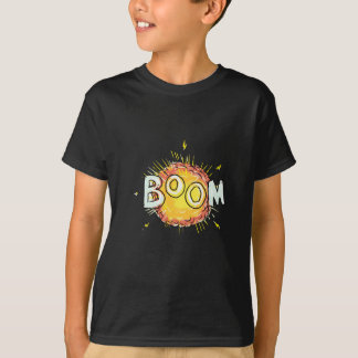 Cartoon Explosion Boom T-Shirt