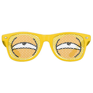 Cartoon Eyes Dying Sunglasses (Yellow)