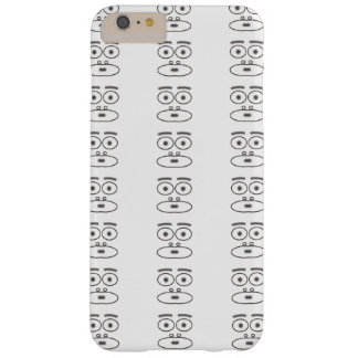 Cartoon face barely there iPhone 6 plus case