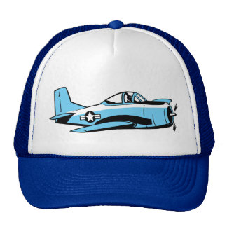 Cartoon Fighter Plane Cap