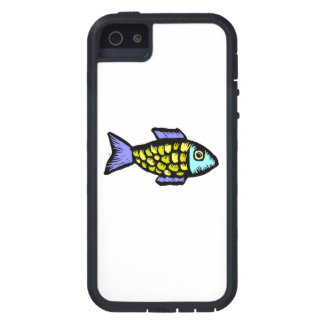 Cartoon Fish Cover For iPhone 5/5S