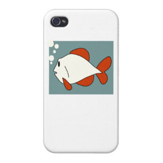 Cartoon Fish iPhone 4 Cover