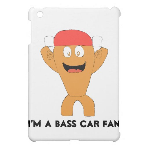 Cartoon Fish Nascar Fan iPad Mini Cases