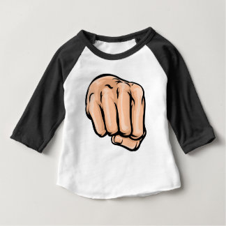 Cartoon Fist Baby T-Shirt