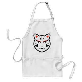 cartoon fox god illustration standard apron
