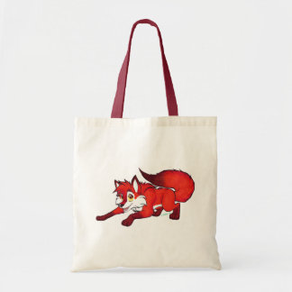 Cartoon fox tote
