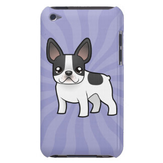 Cartoon French Bulldog Barely There iPod Covers