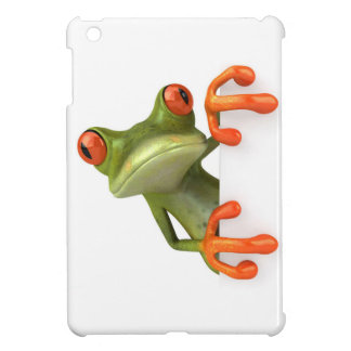 Cartoon Frog iPad Mini Cases