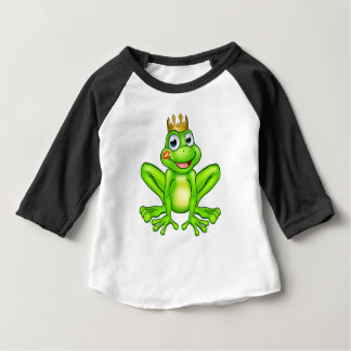 Cartoon Frog Prince Kiss Baby T-Shirt
