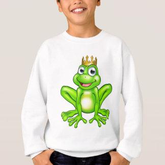 Cartoon Frog Prince Sweatshirt