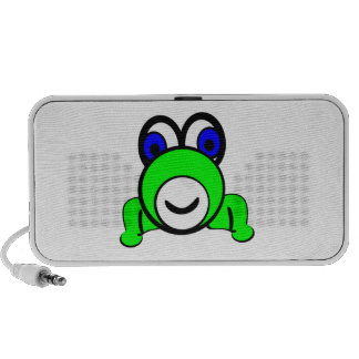 Cartoon Frog Laptop Speaker