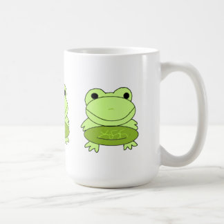 Cartoon Frogs Coffee Mug