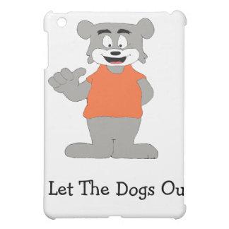 Cartoon Funny Dog Cover For The iPad Mini