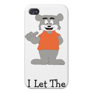 Cartoon Funny Dog Cases For iPhone 4