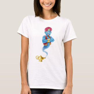 Cartoon Genie and Lamp T-Shirt