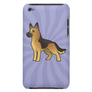 Cartoon German Shepherd iPod Touch Case
