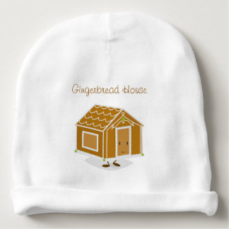 Cartoon Gingerbread House | Baby Beanie