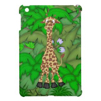 Cartoon Giraffe Apple iPad Mini case