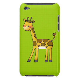 cartoon giraffe barely there iPod cases