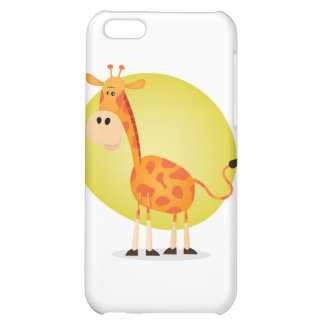 Cartoon Giraffe iPhone 5C Case