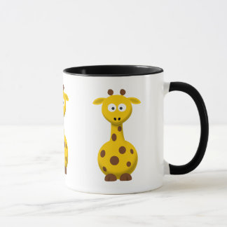 Cartoon Giraffe Mug