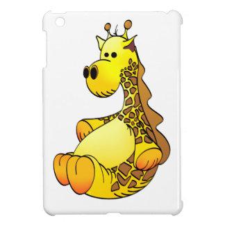Cartoon Giraffe Stuffed Toy Refined iPad Mini Cases