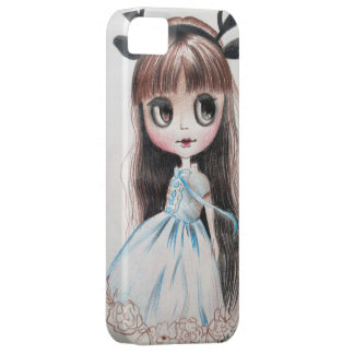 Cartoon girl Barely There iphone5/5s case