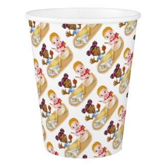 Cartoon Girl Chefs Paper Cup