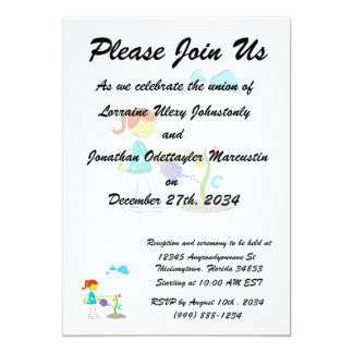 cartoon girl watering flowers eco design.png personalized invite