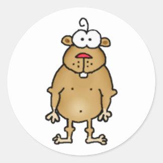 Cartoon Gopher Stickers