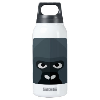 Cartoon Gorilla Head 0.3L Insulated SIGG Thermos Water Bottle