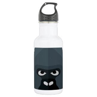 Cartoon Gorilla Head 532 Ml Water Bottle
