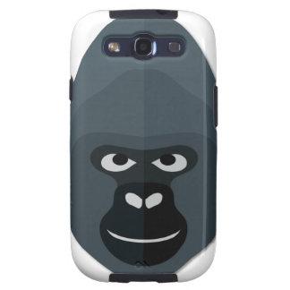 Cartoon Gorilla Head Galaxy S3 Case