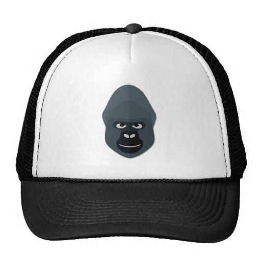 Cartoon Gorilla Head Mesh Hats