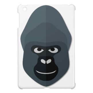 Cartoon Gorilla Head Case For The iPad Mini