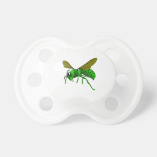 Cartoon green and lime hornet wasp bee dummy